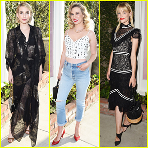 Emma Roberts, January Jones & Jaime King Celebrate Beats by Dre for Violet Grey Launch!