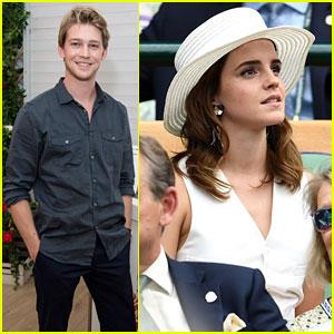 Emma Watson & Joe Alwyn Team Up for Wimbledon 2018