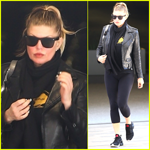 Fergie Spends the Afternoon Running Errands in L.A.