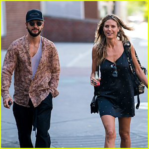Heidi Klum Picks Up Daughter Lou With Boyfriend Tom Kaulitz in New York City!