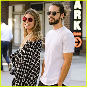 Heidi Klum's Boyfriend Tom Kaulitz Joins Her to Pick Up Daughter from Camp