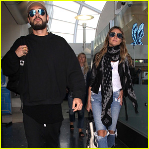 Heidi Klum & Tom Kaulitz Arrive Together in Los Angeles!