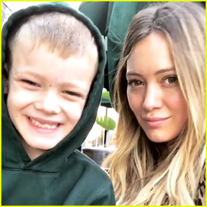Hilary Duff Shares Her Son's Thoughts on 'Lizzie McGuire'