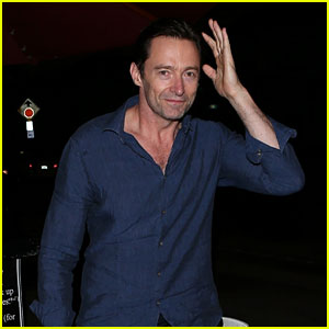 Hugh Jackman Works Out with Arnold Schwarzenegger on the Fourth of July