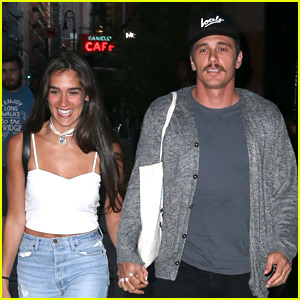 James Franco Holds Hands with Girlfriend Isabel Pakzad on NYC Date Night