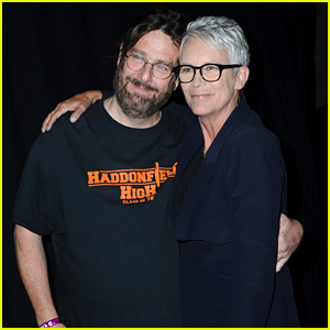 Jamie Lee Curtis Meets Fan Who Says She Saved His Life