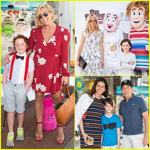 Jane Krakowski, Rachel Zoe & More Have Family Day at 'Hotel Transylvania 3' East Hampton Screening!