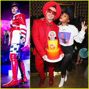 Janelle Monae Celebrates 'Dirty Computer' Tour at NYC After Party!