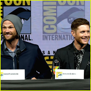 Jared Padalecki & Jensen Ackles are 'Supernatural' Studs at Comic-Con 2018