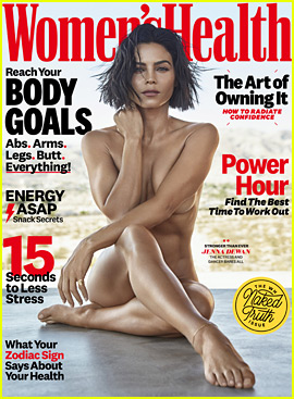 Jenna Dewan Strips Down to Nothing for 'Women's Health'