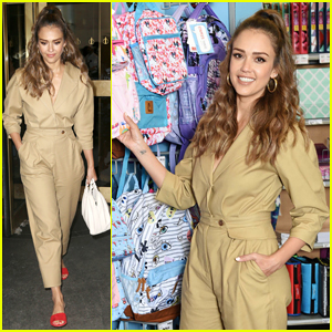 Jessica Alba Teams Up with Staples for Back to School Season!