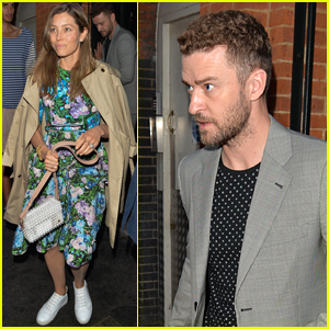 Jessica Biel & Justin Timberlake Step Out for Date Night in London!