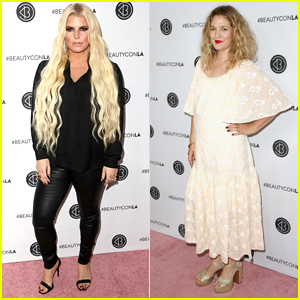 Jessica Simpson & Drew Barrymore Share Beauty Tips at Beautycon 2018!