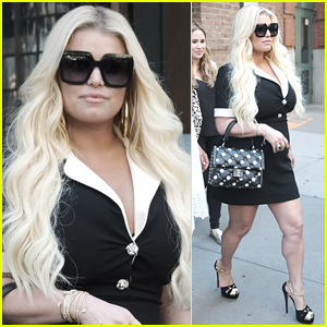 Jessica Simpson Looks So Chic Heading to Meeting in NYC