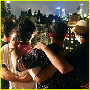 The Jonas Brothers Reunite in NYC for Fourth of July - See the Pic!