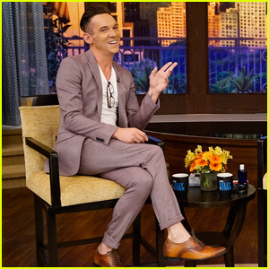 Jonathan Rhys Meyers Proudly Rocks $110 Suit on 'Live with Kelly and Ryan'