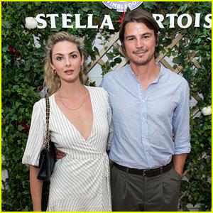 Josh Hartnett & Longtime Girlfriend Tamsin Egerton Couple Up at Wimbledon 2018!