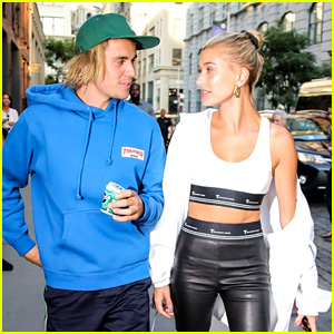 Justin Bieber Gets Hot & Heavy With Fiancee Hailey Baldwin in Steamy Kissing Pic!