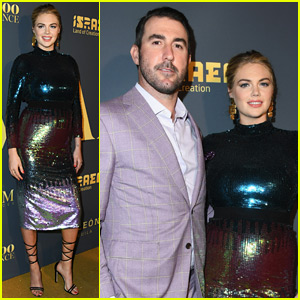 Kate Upton & Husband Justin Verlander Celebrate Her Maxim Hot 100 Issue!