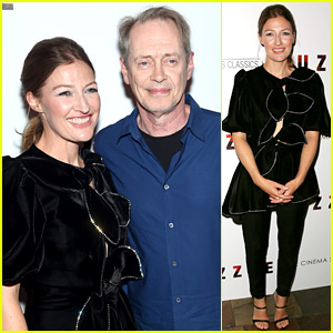Kelly Macdonald Gets Steve Buscemi's Support at 'Puzzle' Premiere