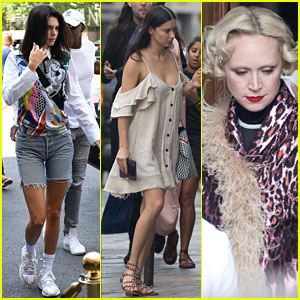 Kendall Jenner, Adriana Lima, & Gwendoline Christie Team Up for Miu Miu Photo Shoot