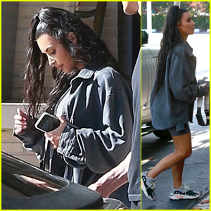 Kim Kardashian Goes Shopping at Barneys in Beverly Hills!
