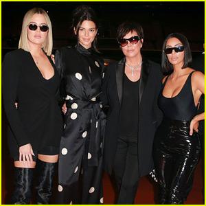 Kim Kardashian Joins Her Family at 'If Only' Poker Tournament!