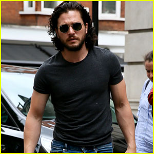 Kit Harington Steps Out For the First Time Since His Wedding to Rose Leslie!