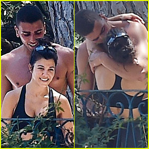 Kourtney Kardashian & Younes Bendjima Pack on the PDA, Look So Happy Together in Italy!