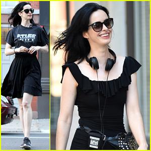 Krysten Ritter Gets to Work as Director on 'Jessica Jones' Set!