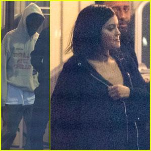 Kylie Jenner & Travis Scott Head To Paris Ahead of Lollapalooza