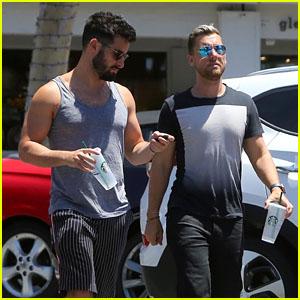 Lance Bass & Husband Michael Turchin Grab Coffee Together in LA