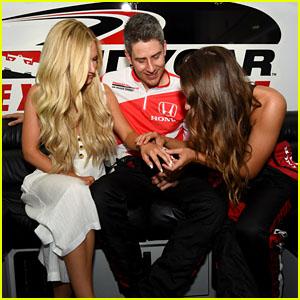'The Bachelor' Stars Vanessa Grimaldi, Arie Luyendyk Jr. & Lauren Burnham Attend Honda Indy Toronto!