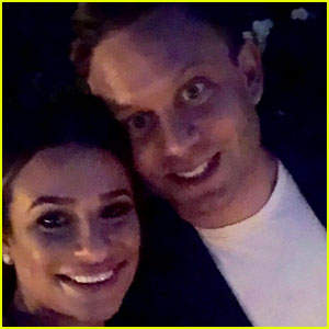 Lea Michele's Friends Throw Her & Zandy Reich An Engagement Party - See The Pics!