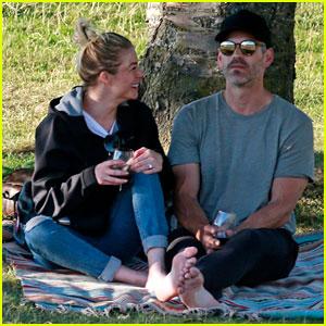 LeAnn Rimes & Husband Eddie Cibrian Enjoy Romantic Picnic in the Park