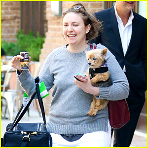 Lena Dunham Confused For Another Famous Celeb at the Airport