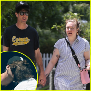 Lena Dunham Kisses Mystery Man in New Photos!