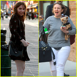 Lena Dunham Gets Honest About Her Weight & Happiness