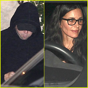 Leonardo DiCaprio & Courteney Cox Party in Malibu During Fourth of July Week