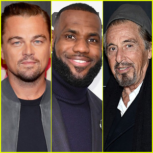 Leonardo DiCaprio Dines with LeBron James & Al Pacino in Beverly Hills!