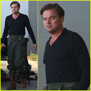 Leonardo DiCaprio Starts Filming 'Once Upon a Time in Hollywood' - See the First Set Photos!