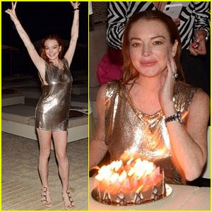 Lindsay Lohan Celebrates Her 32nd Birthday in Mykonos!
