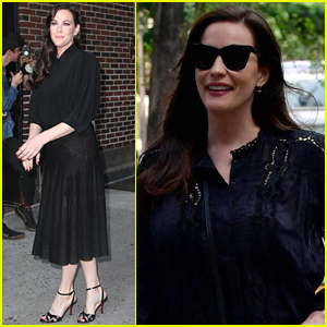 Liv Tyler Promotes 'Harlots' Season Two in NYC
