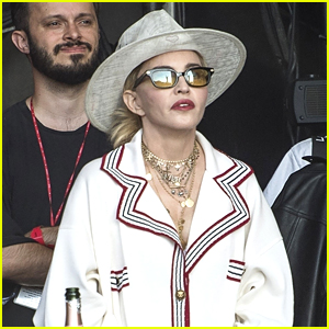 Madonna Sits Front Row at Migos Concert in London!