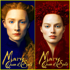 Saoirse Ronan & Margot Robbie Are Nearly Unrecognizable for 'Mary Queen of Scots' Posters!