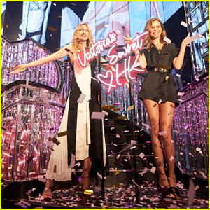 Martha Hunt & Josephine Skriver Celebrate Victoria's Secret Hong Kong Flagship Store Launch!