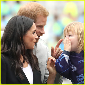Meghan Markle's Hair Was Pulled By a Toddler & Prince Harry Stepped In to Playfully Scold!