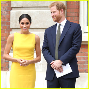 Duchess Meghan Markle & Prince Harry Are Picture Perfect at Commonwealth Youth Challenge Reception