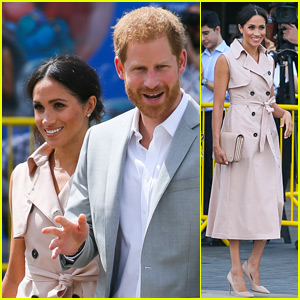 Duchess Meghan Markle Is Summer Chic for Royal Visit with Prince Harry!