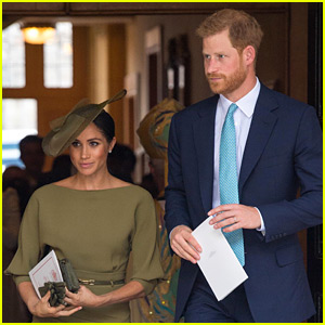 Duchess Meghan Markle & Prince Harry Celebrate Prince Louis' Christening